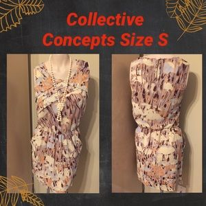 👒COLLECTIVE CONCEPTS DRESS SIZE S👒WORN ONCE.👍